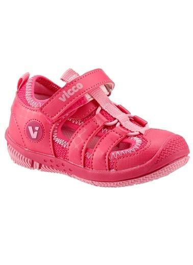 Vicco Vicco 332.Z.300 Sunny Fuşya Kız Çocuk Günlük Ortopedik Spor Sandalet Fuşya